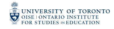 OISE - University of Toronto Logo